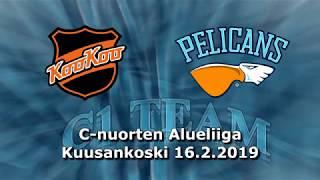 La 16.2.2019 KooKoo Akatemia - Pelicans C1 Team