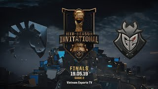 G2 vs TL [HighLights MSI 2019] [19.05.2019] [Finals] [Game 2]