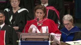 Amal Basha, Convocation 2017 Honorary Degree recipient thumbnail