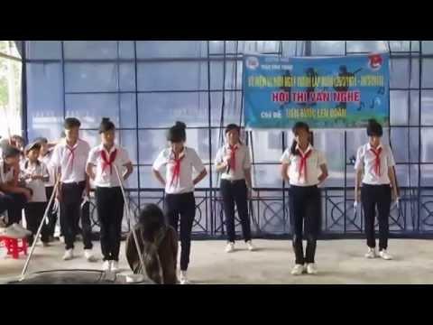 Múa và Hát Biết Ơn Chị Võ Thị Sáu . Lớp 8a2 , trường THCS Trần Bình Trọng ( fb Boy GoMa )