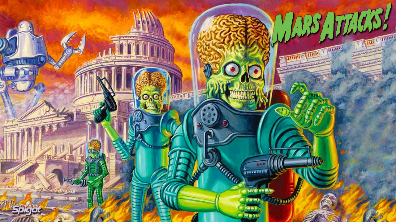 Mars Attacks!(1996) Movie Review - YouTube
