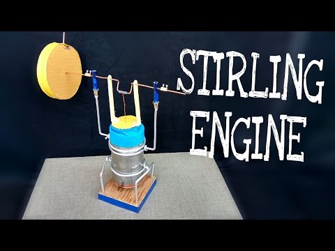 How to make STIRLING Engine | Amazing Science Project | Homemade | DIY