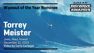 Torrey Meister at Jaws | WIPEOUT OF THE YEAR AWARD NOMINEES - Red Bull Big Wave Awards