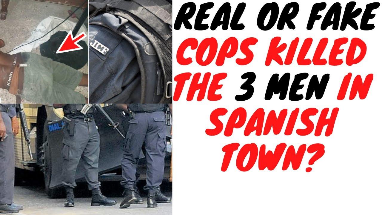 Spanish Town Triple Murda Shows Why Jamaicans Can't Trust No Uniform After Dark!