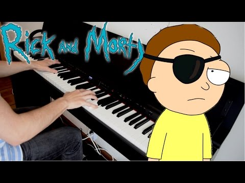 RICK AND MORTY  Evil Morty For the Damaged Coda  Piano