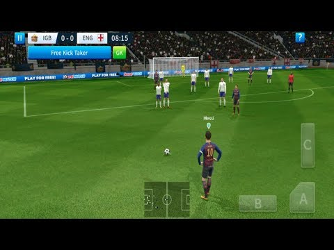 dream-league-soccer-2019⚽️lionel-messi-free-kick-tracker*gameplay-#15