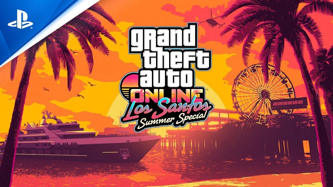 GTA Online: Los Santos Summer Special - Tráiler PS4 en con subtítulos en ESPAÑOL| Playstation España