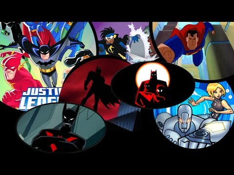 DC All DCAU Openings Intros