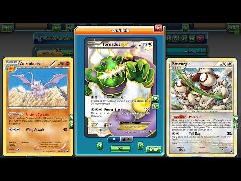 Pokemon TCG - Tornadus EX/Aerodactyl - Legacy Deck!