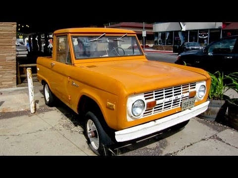 Early 70s Ford Bronco Half Cab