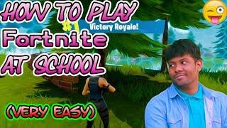 Comment jouer Fortnite à l'école (fr) Pas de Hack Pas de téléchargement Fonctionne sur chaque ordinateur de l'école (très facile)