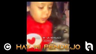 Ay Mi Pendejo Dembow - La Ni  a Y El Perrito  Prod By  LaNevula23  Resimi