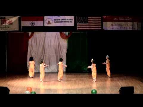62nd India's Republic day celebration MIx of folk and modern dance