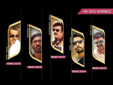9th Anual Vijay Awards 2015 | Favourite Hero | Trolling Vijay Award