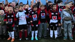 SOUA Rugby Le Haka des enfants U6 U8 U10 U12