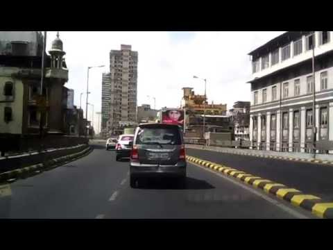 Mumbai City Roads - from Sion Circle to Gateway of India