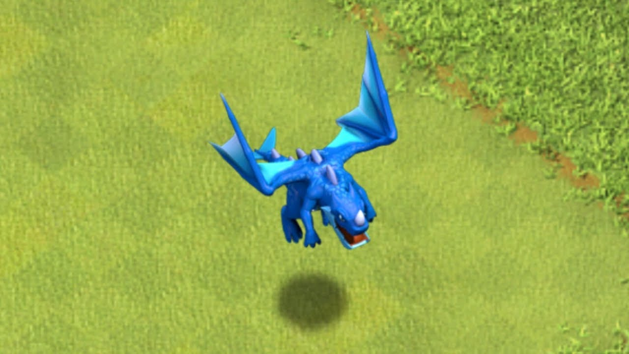 "NEW DRAGON TROOP IS HERE!! ""Clash of clans"" NEW UPDATE"