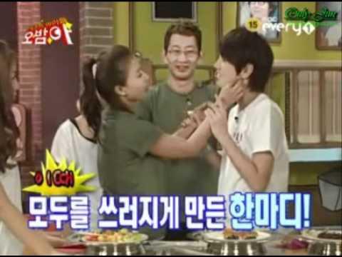 Hwangbo Seong joong kiss @ OHBAMAH