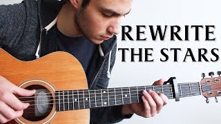 Download Lagu Rewrite The Stars - The Greatest Showman (Fingerstyle Guitar Cover) Mp3