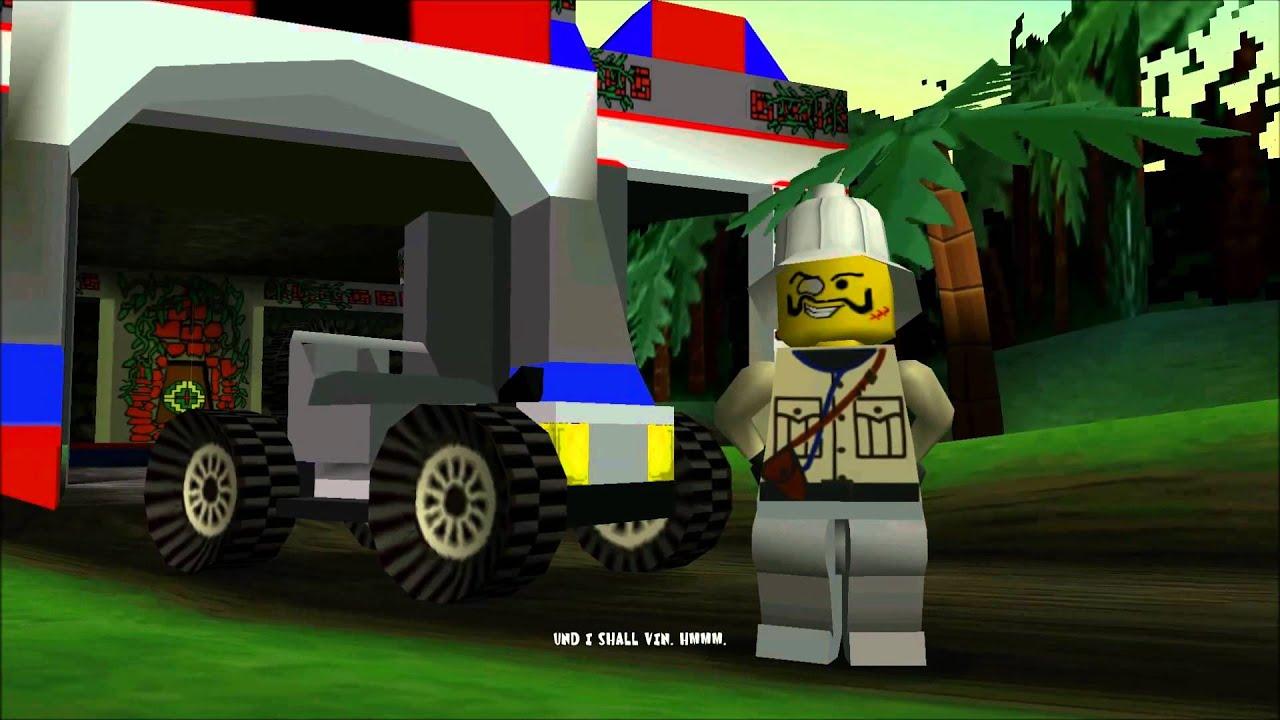 LEGO Racers Boss Intro  Baron von Barron  YouTube