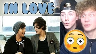 Harry Styles being supportive - (Larry Stylinson) Reaction