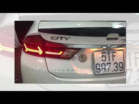 Đèn Hậu Honda City mẫu Audi ĐỘC NHẤT VIỆT NAM