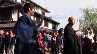 ひこねの城まつりパレードを盛り上げてくれた新井美羽ちゃん、小松和重...