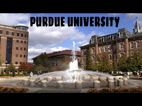 Campus Tour | Purdue University!! VLOG Part 1