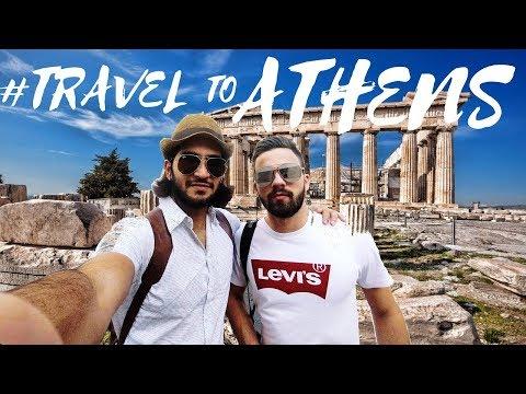TravelVlog#5 | Greece | Travel to Athens