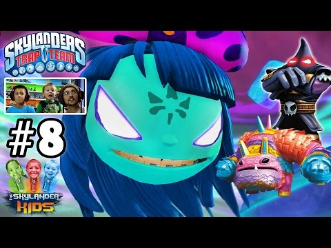 Lets Play Skylanders Trap Team: Chapter 8 - Telescope Towers w/ Hood Sickle, Painyatta, DreamCatcher