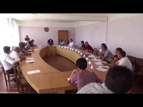 Ավագանու արտահերթ նիստ-03.09.2018