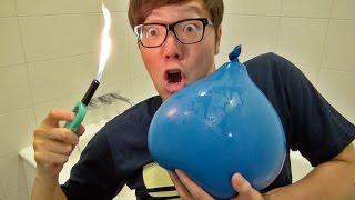 水風船は火であぶっても割れないって本当!? 実験してみた! thumbnail