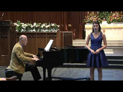 NATS National Student Auditions 2017: Caroline Collins performing