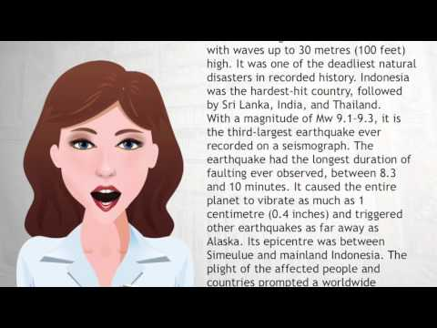Indian Ocean earthquake - Wiki Videos