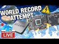 Live: World Record Attempt ft. All-AMD Parts (5700 XT + 3900X)