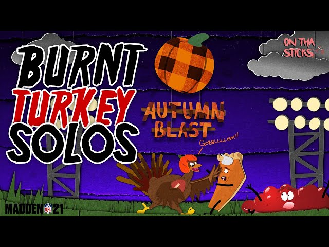 Madden 21 Ultimate Team Autumn Blast Burnt Turkey Solos (Free NAT 91 OVR Autumn All-Star) #MUT