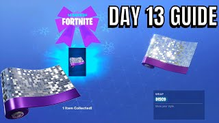 Fortnite 14 days of christmas day 13 rewards
