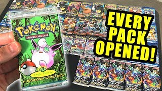 *VINTAGE BOOSTER PACK OPENED!* Opening Pokemon Cards BIG HAUL OF PACKS!