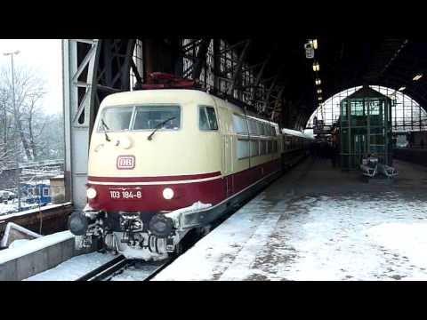 Baureihe 103 in Hamburg-Dammtor