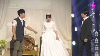 [HIT] 개그콘서트 - 김재욱, 허민이 오나미로 변신하자 바로 돌변.20150614