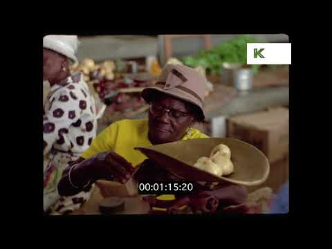 1970s Caribbean Market Scenes, HD from 35mm | Kinolibrary