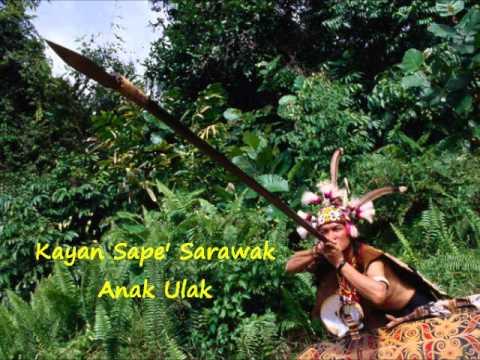 Kayan Sape Sarawak - Anak Ulak