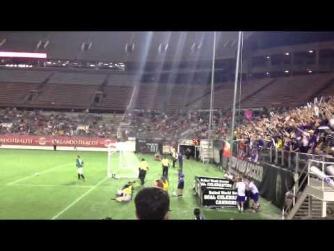 Orlando City Soccer fans