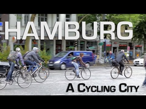 Hamburg, Germany: How Cycling is Growing - Without A Path
