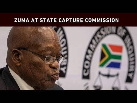 Jacob Zuma at state capture inquiry: I don't know. Clears throat. This is unfair