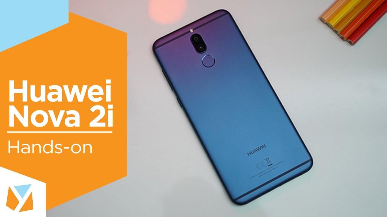 Huawei Nova 2i Hands-on - YouTube