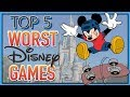 Top 5 WORST Disney Games! (Feat. It's All Fun and Games)