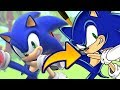 Smash Bros. Ultimate Sonic to Adventure Sonic - Speed Draw