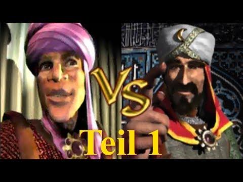 Emir vs Saladin - Teil 1 | Stronghold Crusader KI Kämpfe