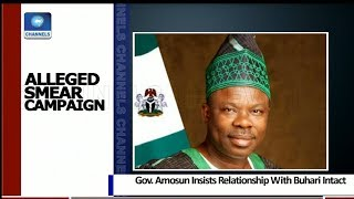 Gov Amosun Insists Relationship With Buhari Intact 23/10/18 Pt.2 |News@10|